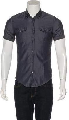 Gucci Woven Short Sleeve Shirt