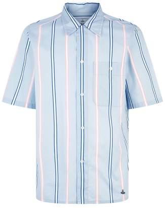 Vivienne Westwood Fez Pajama Stripe Shirt