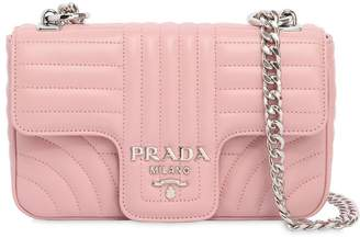 Prada Small Quilted Soft Leather Flap Bag