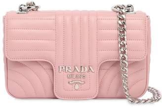 Prada (プラダ) - PRADA スモール キルトソフトレザー フラップバッグ