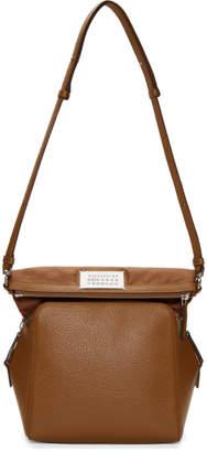 Maison Margiela Tan Grained Camera Bag