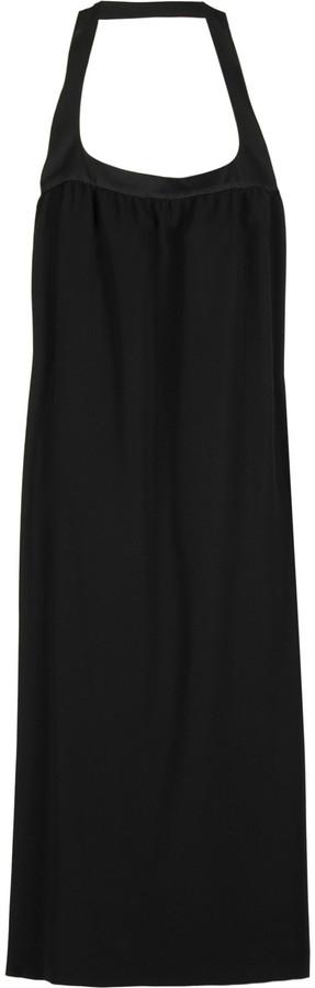 Narciso Rodriguez Crepe halter dress