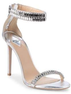 Aperlaï Saetia Embellished Leather Sandals