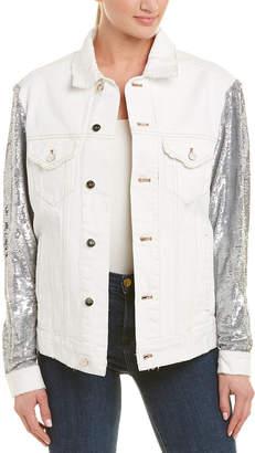 IRO Sequin Denim Jacket