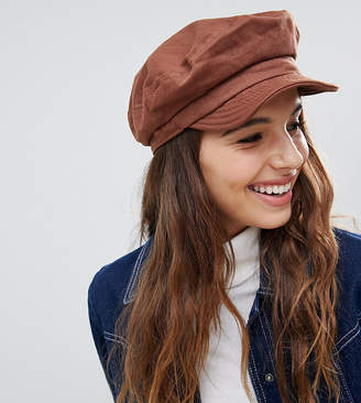 8401f6078fe Brixton Unstructured Baker Boy Hat in Chestnut