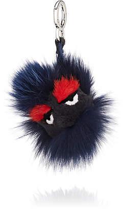 Fendi Women s Fur Bag Charm - Navy ca9962401ec48