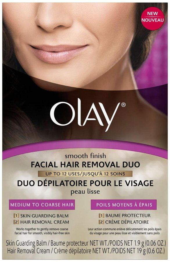 Olay Facial Hair Removal Duo, Medium to Corse Hair - 0.6 oz