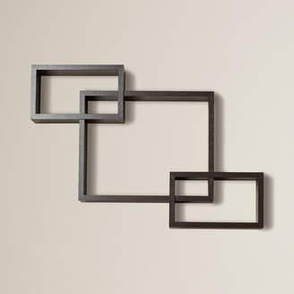 Brayden Studio 3 Intersecting Wall Shelf