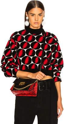 Proenza Schouler Lightning Bolt Jacquard Sweater