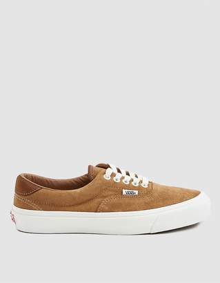 4644c3800e Vans Vault By OG Era 59 LX Sneaker in Tobacco Brown Monks Robe