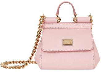 Dolce & Gabbana Nano Leather Sicily Bag