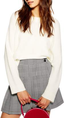 Topshop Raglan Sleeve Sweater