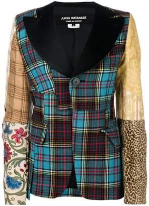 Junya Watanabe patchwork blazer