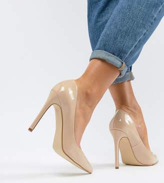 a4ff79513d4 Raid Wide Fit RAID Wide Fit Pauline Blush Patent Court Shoes