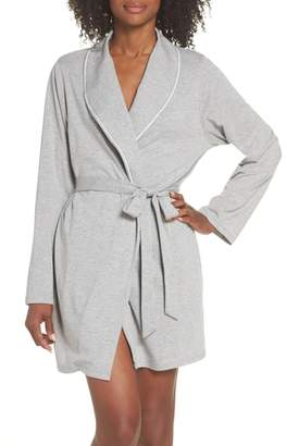 ELLEN DEGENERES Shawl Collar Short Robe