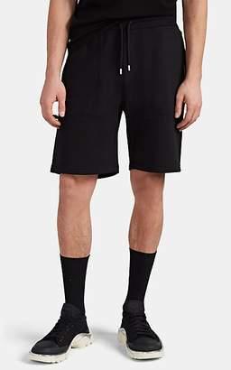 ALYX Men's Logo Cotton-Blend Fleece Drawstring Shorts - Black