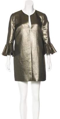 BCBGMAXAZRIA Metallic Mini Dress