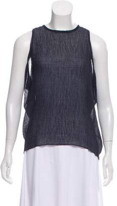 Helmut Lang Textured Sleeveless Top