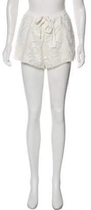 Alexis Lace Short Shorts