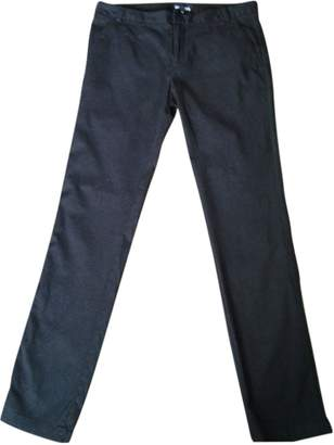My Pants My Pant's Blue Cotton Trousers for Women
