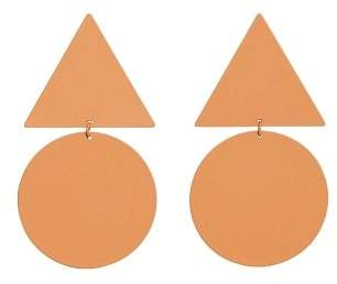 MANGO Geometric earrings