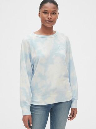 Gap Logo Tie-Dye Raglan Sweatshirt