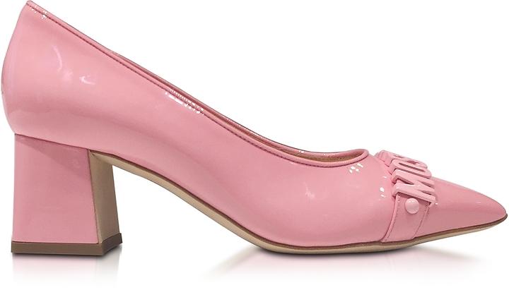 MoschinoMoschino Pink Patent Leather Pump