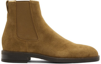 Paul Smith Tan Suede Canon Chelsea Boots