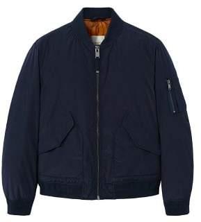MANGO Quilted lining bomber jacket
