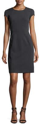 Lafayette 148 New York Dixon Short-Sleeve Dress