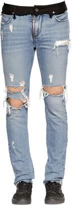 RtA 16.5cm Skinny Two Tone Denim Jeans