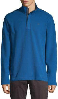DKNY Quarter-Zip Sweater