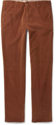Lardini Slim-Fit Stretch-Cotton Corduroy Trousers