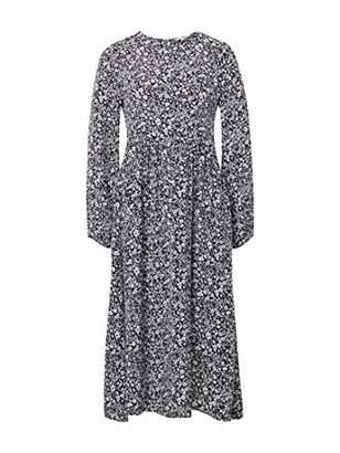 b6156c1c2c22cd Tom Tailor Women s Feminines Kleid Mit Einem Femininen Blumenmuster Dress