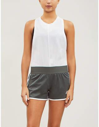 adidas ID M10 Athletics cotton-blend shorts