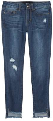 Joe's Jeans Fray Hem Skinny Jeans