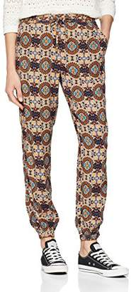 Fat Face Women's Kadleidoscope Cuff Trousers,W26/L31 (Manufacturer Size: 8)