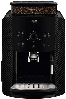Krups Carbon 'Arabica Manual' Automatic Espresso Bean To Cup Coffee Machine - Ea811k040