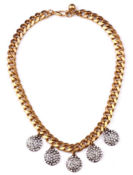 Lulu Frost Crystal Pave Collar