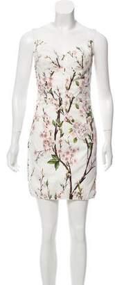 Dolce & Gabbana Floral Bustier Dress