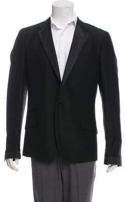 Saint Laurent Mohair & Wool-Blend Tuxedo Jacket