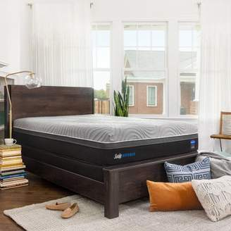 Sealy Hybrid Performance Copper ll 13.5 Firm Mattress with 5 Low Profile Foundation Set