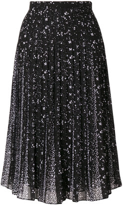 Michael Michael Kors embroidered pleated skirt $188.50 thestylecure.com
