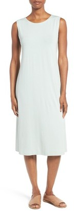 Women's Eileen Fisher Jersey Midi Dress $188 thestylecure.com