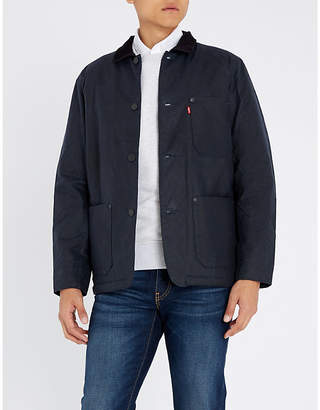 Levi's Button-up waxed-cotton jacket