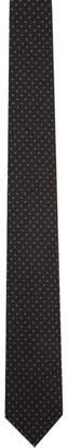 Prada Black Polka Dot Tie