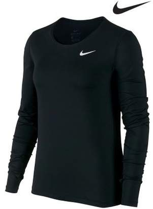 Next Womens Nike Mesh Long Sleeve Top