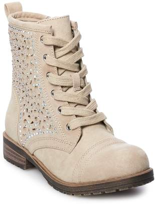 So SO Jamee Girls' Combat Boots
