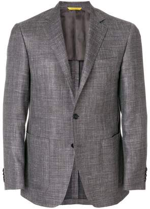 Canali classic fitted blazer