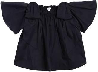 Chloé Cotton Muslin Shirt W/ Bows
